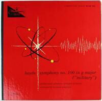 Haydn Symphony 100, Hermann Scherchen 1956 Westminster W-LAB 7024 Mono LP
