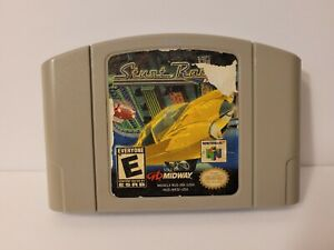 Stunt Racer 64 (Nintendo 64, 2000) N64 Authentic Cart Only Tested & Works RARE!!