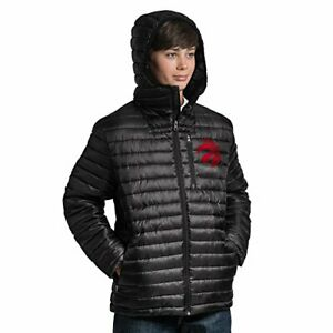 G-III Youth Boys NBA Quilted Puffer Jacket Toronto Raptors Size L 16/18 Ripstop
