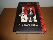 Battle Royale Ultimate Edition vol. 1 (3-in-1, Hardcover) Manga Book in English