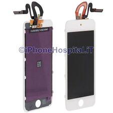Touch Screen Vetro Lcd Display Colore Bianco per iPod Touch 5th 6th Generazione