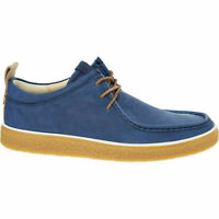 £140 ECCO Crepetray Blue Lea Comfy Cushion Oxford LaceUp Wallaby Moccs UK 9.5