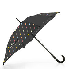 reisenthel travelling umbrella Regenschirm black dots