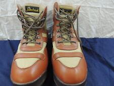 Men's Brown/Beige LakeStream Hodgman Ankle Work Fishing Boots Size 15