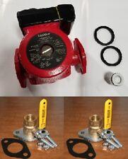 "Liquidus 15-6SFC 3 Speed Circulator Pump w/ FNPT Flanged Ball Valves [1""]"