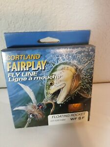 Cortland Fairplay Series Fly Line Floating Rocket WF 6 F 28 Yards