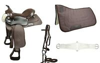 Warehouse Clearance Sale Easy Ride Pleasure Trail Western Horse Tack Saddle Set