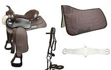 Warehouse Clearance Sale Easy Ride Pleasure Trail Western Horse Tack Saddle Set