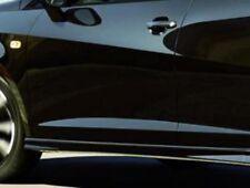 NEW GENUINE SEAT IBIZA 6J 5 DOOR MIDNIGHT BLACK PAINTED SIDE SKIRTS SET