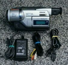 Sony Handycam DCR-TRV320 Digital8 Hi-8 8mm Camcorder Video Transfer W/ Extras FS