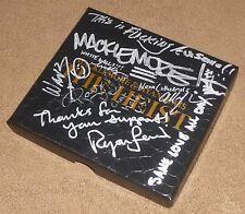 MACKLEMORE & RYAN LEWIS SIGNED THE HEIST DELUXE CD BOX SET w/ LYRIC INSCRIPTIONS