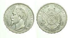pcc1718_2) Francia Napoleone III (1852-1870) - 5 Franchi 1868 A