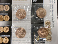 2010 FIRST SPOUSE MEDALS SET US Mint Packaging         FREE SHIPPING IN THE USA