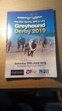 Greyhound Derby Race Card 2019