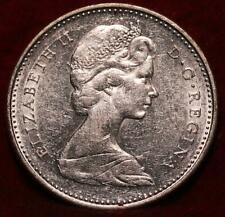 1968 Canada 10 Cents Silver Foreign Coin
