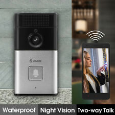 Digoo HD 720P Camera Wireless Bluetooth Wi-Fi Enabled Video Doorbell 2 way Audio
