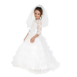 1 Pcs Fashion Widding Vest Dresses for  Princess Dolls 14cm Length  Jl RG