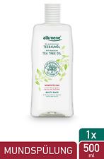 alkmene Teebaumöl Mundspülung mit 6-fach Schutz Mundwasser Zahnspülung