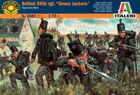 "Italeri 1/72 6083 Napoleonic British 95th Regiment ""Green Jackets"""