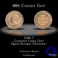 1884 Canada Large Cent - Victorian Era