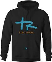 """True Riches"" Hoodie to Match Retro ""Cool Blue"" 1's"