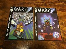 WARP-3 #1-2 (Equinox comics/Steve Morales/0914238) complete set lot of 2