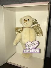 Annette Funicello Bear Angel Wings Ivory Moon Pendant Collectible New In Box New