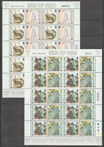 s37841 ISLE OF MAN EUROPA CEPT MNH** 1993 MSx2