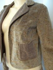 NWT $644 Anthropologie GREGORY PARKINSON Brown Paisley NORTHERN SKY Jacket 6
