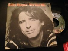 "ALICE COOPER SPANISH 7"" SINGLE SPAIN YOU AND ME - HARD ROCK"