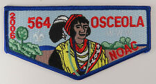 "OA Lodge 564 Osceola S30 Flap ORD; LBL ""WWW""; RED ""564""; PB  [R052]"