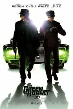 THE GREEN HORNET Movie Poster - Black Beauty Action Movie Print ~ Imperial Crown