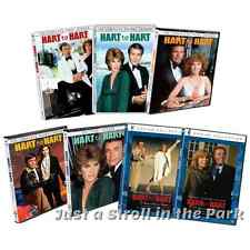 Hart To Hart: Complete TV Series Seasons 1 2 3 4 5 + Movies Box / DVD Set(s) NEW