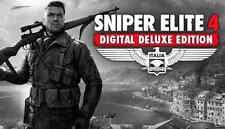 Sniper Elite 4 Deluxe Edition (COMPLETE) Steam Game (PC) --- REGION FREE ---