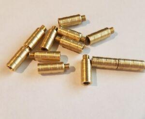 50 Grain Like Gold Tip FACT Arrow Weight Screw Combo 1dz .246 shafts FOC gr