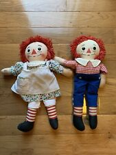Vintage Raggedy Ann and Andy knickerboker