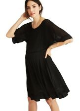 Hatch Maternity Women's THE LUCIA DRESS Black Size 1 (S/4-6) NEW