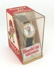 Vintage wind-up Criterion Campbell Kid Character Watch in Original Box