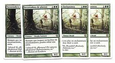 4x ENCANTADORA DE PLANTAS NM español VERDURAN ENCHANTRESS 9th Edition x4 Magic