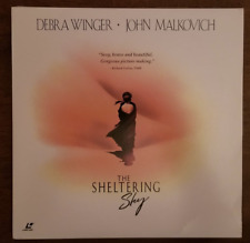 LASERDISC Movie: THE SHELTERING SKY - John Malkovich, Debra Winger - Collectible
