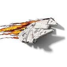 Star Wars Lampara Halcon Milenario Lampara de Pared Infantil Habitación Niño Niñ