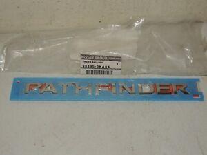 2013 - 2019 NISSAN PATHFINDER REAR GATE NAME PLATE 4 X 4  NEW OEM 90895-3KA0A