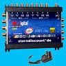 Mk-digital 9-8 Multi-Interruptor 9/8 Sat Distribuidor Amplificador Full HDTV HD