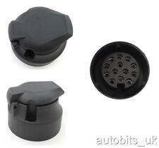 13 pin black plastic socket Tow Bar Towing Car Trailer Caravan Camper Euro NEW