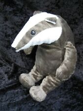 "Ikea Gravling Badger Soft Plush Stuffed Animal 13"" No Jacket or Tags"