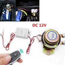 12V Universal Car SUV Wireless Remote Control Battery Cut-off Disconnect Switch