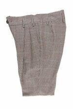 Vivienne Westwood green red tartan trousers 48 RRP490 DAR246