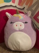 "8"" Squishmallow Unicorn Kellytoy NWT Squishmallows New!!"