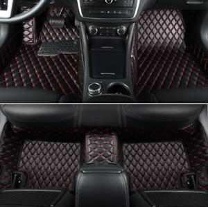 For Lexus GS350 - 2008-2017 leather Car Floor Mats Waterproof Mat