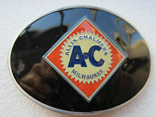 Allis Chalmers belt buckle tractor farming agriculture.